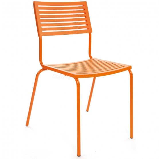 Schaffner Stuhl Lamello orange-orange
